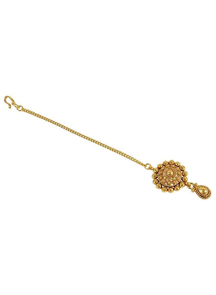 Much More Gold Metal Mangtika for Women