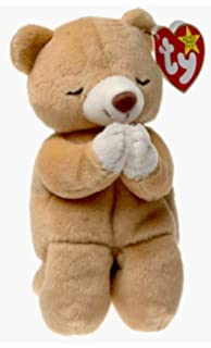 Amazon.com  TY Beanie Babies Hope the Praying Bear Stuffed Animal ... 073cdc955cfe
