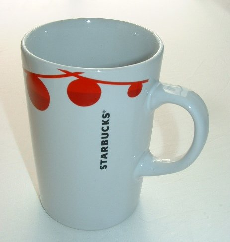 Starbucks Festive Holiday Red Baubles Mug (Starbucks Gift Sets Christmas)