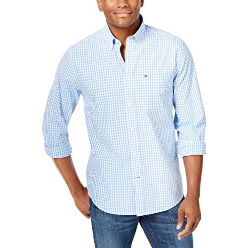 Big and Tall Long Sleeve Shirt Twain, Collection Blue, BG-3XL ()