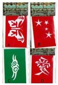 SOLCHIM S.P.A. - D Plantilla del Tatuaje símbolos Chinos: Amazon ...