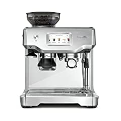 Barista-quality performance with new intuitive touch screen display with pre-programmed café drinks menu and automatic milk texturing. All within a compact footprint. A built-in grinder delivers the right amount of ground coffee on demand and...