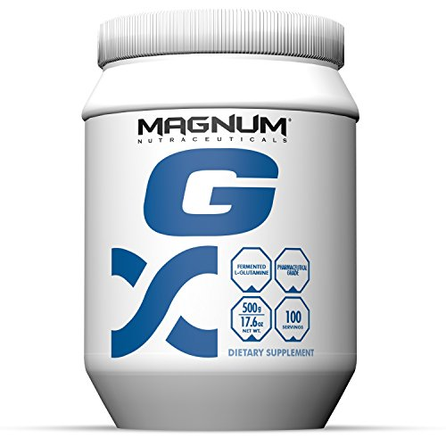 Magnum Nutraceuticals L Glutamine 100 Servings Immune System Support Systematic Assimilation Repair Lean Muscle