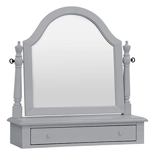 Million Dollar Baby Classic Sullivan Vanity Mirror, Grey by Million Dollar Baby Classic