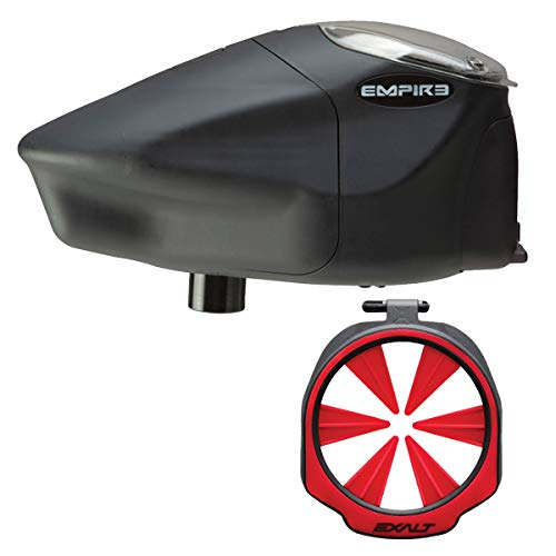 Empire Prophecy Z2 Paintball Loader - Exalt Feedgate - Red - Wicked Bundle - Paintball Prophecy Empire