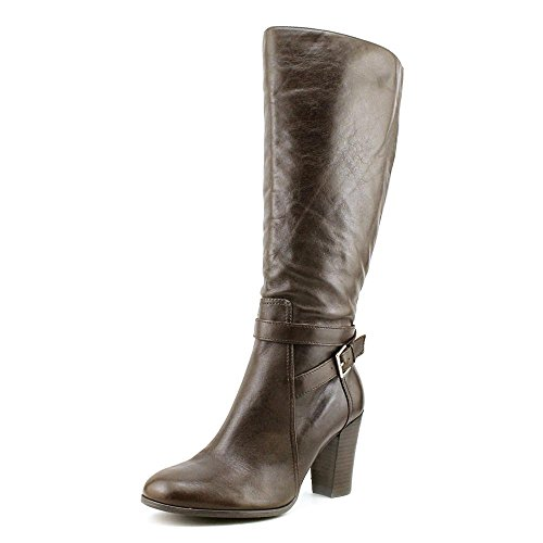 Marc Fisher Kessler Womens Size 8.5 Brown Leather Fashion Knee-High Boots (Marc Fisher Kessler Boots compare prices)
