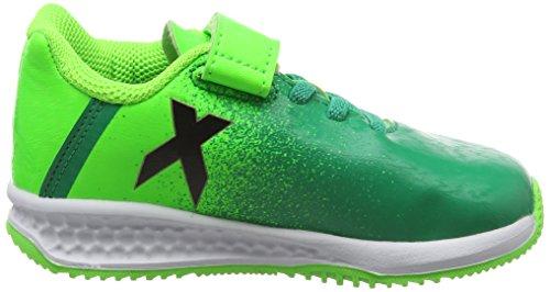 adidas Rapidaturf X El I - sgreen/cblack/corgrn