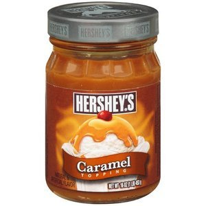 Hersheys Caramel Topping, 16-oz jar (Pack of ...