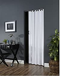 "Ltl Home Products Nv3680h Nuevo Interior Accordion Folding Door, 36"" X 80"", White"