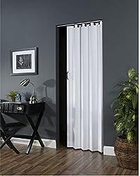 "Ltl Home Products Nv3680h Nuevo Interior Accordion Folding Door, 36"" X 80"", White"