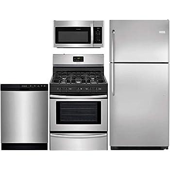 Amazon.com: Frigidaire - Paquete de cocina de 4 piezas con ...