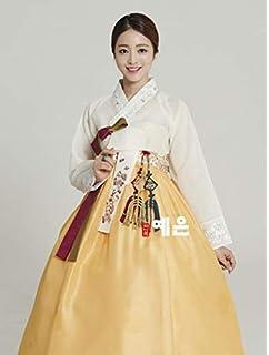a534229a4 Korean Hanbok Dress Korean Traditional Modern Hanbok High Waist Dress