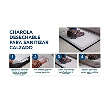 DAQ Tapete Sanitizante para Calzado Amazon Decoración del Hogar Hogar y Cocina Tapetes de Entrada