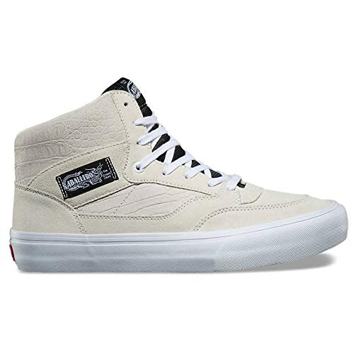 Vans Full Cab Pro Mens Size 12 Classic White Off White Steve Caballero Skateboarding Shoes (Half Shoe Vans Cab Pro)