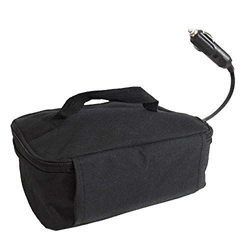 STARRYSKY Mini Portable Oven Personal Lunch-Containers Food Warmer Cooler Bag For Business Travel Camping Truckers Vegetarians Picnic Portable Oven 12V Personal Crockpot Slow Cooker - Microwave Volt Oven 12
