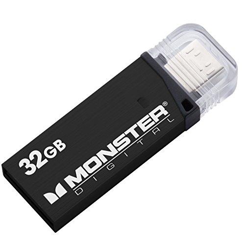 Monster Digital 32gb Usb 3.0 On-the-go Flash Drive - Monster Usb Flash Drive