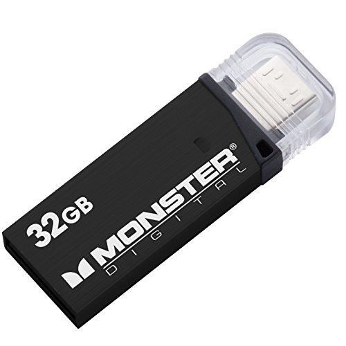 (Monster Digital 32gb Usb 3.0 On-the-go Flash Drive - 32 Gb - Black)