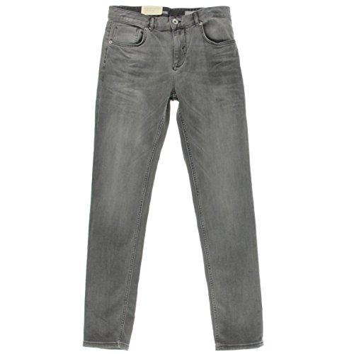 Selected Homme Mens Denim Five-Pocket Slim Jeans Gray 34/34 Homme Denim Pants