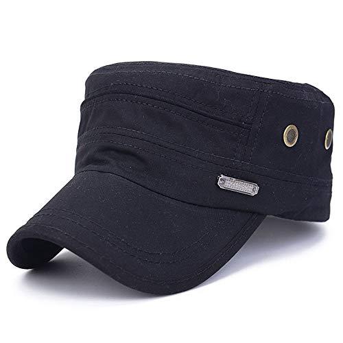 Sale! Teresamoon Unisex Military Hats Sailor Caps Women Cotton Berets Solid Cap Sun Hat