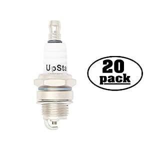 20-Pack Compatible Spark Plug for DOLMAR Hedge Trimmer HT2045D - Compatible Champion RCJ6Y & NGK BPMR7A Spark Plugs