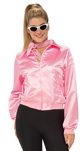 Pink Ladies Jackets Cheap (Rubie's Costume Co Women's Grease, Pink Ladies Costume Jacket, As Shown,)