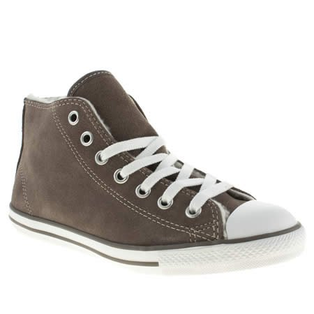 2a42fc6dd585d6 Converse All Star Dainty Mid Shearling - 6 Uk - Grey - Suede  Amazon.co.uk   Shoes   Bags