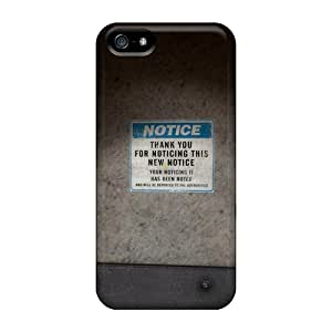 Premium [cyU38740PSna]black Mesa Notice Cases For Iphone 5/5s- Eco-friendly Packaging