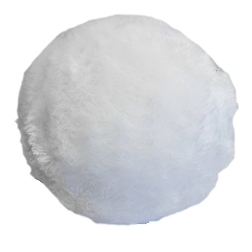 Jumbo Plush Bunny Tail Costume Accessory White -