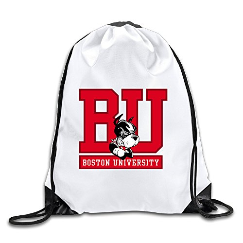 Hunson - Cool Boston University Backpack Sack Bag Drawstring Sling Backpack For Men & Women Sackpack - Fire King Laptop