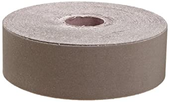 "3M Utility Cloth Roll 211K, Aluminum Oxide, 2"" Width x 50yd Length, 320 Grit (Pack of 1)"