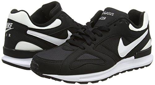 Nike Herren Air Pegasus New Racer Laufschuhe, Schwarz Noir