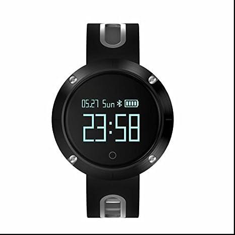 Monitor de ritmo cardíaco Smartwatch, podómetro Fitness Running ...