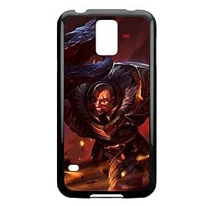 Braum-002 League of Legends LoL case cover Samsung Galxy S4 I9500/I9502 - Plastic Black