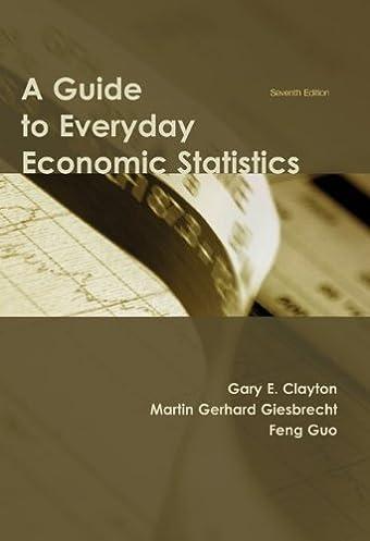 a guide to everyday economic statistics gary e clayton martin rh amazon com Philippianes Economic Statistics in The Economic Statistics for Florida