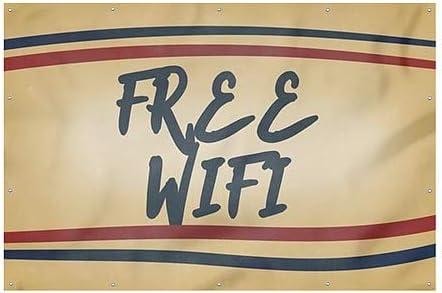12x8 CGSignLab Nostalgia Stripes Heavy-Duty Outdoor Vinyl Banner Free WiFi