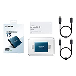 Samsung T5 Portable SSD - 500GB - USB 3.1 External SSD (MU-PA500B/AM)