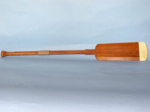 Wooden Hamilton Squared Rowing Oar 62'' - Nautical Decoration - Wooden Oar - Nautical by Handcrafted Model Ships (Image #2)
