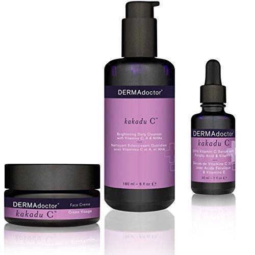 DERMAdoctor C Cleanser, Serum & Face Crème Trio