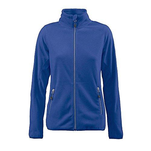 102a85340c50 Damen Blau Printer Jacke Ladies   Twohands Sportliche 530 Fleece Yw56q ...