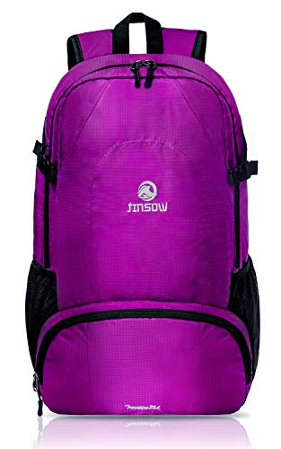 dd030a6c06c0 JINSOW 35L Lightweight Packable Hiking Backpack Daypack
