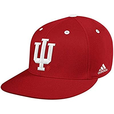 Indiana Hoosiers Adidas On Field Mesh Game Fitted Hat