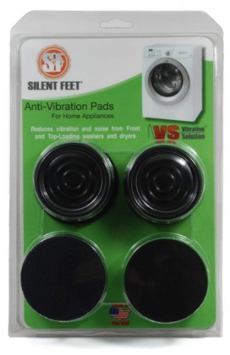 Price comparison product image Silent Feet - Anti-Vibration Pads for Washing Machines and Dryers