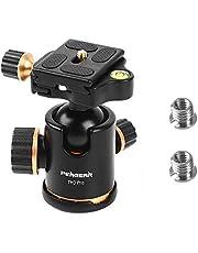 Pergear® TH3 Heavy Duty Photography Camera Tripod Ball Head 360 Degree Fluid Rotation Tripod Ballhead for DSLR Camera Quick Release Plate