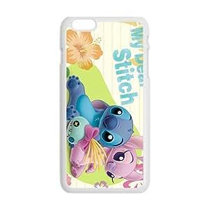 QQQO stitch wide anime my dear stitch Phone case for iPhone 6 plus Kimberly Kurzendoerfer