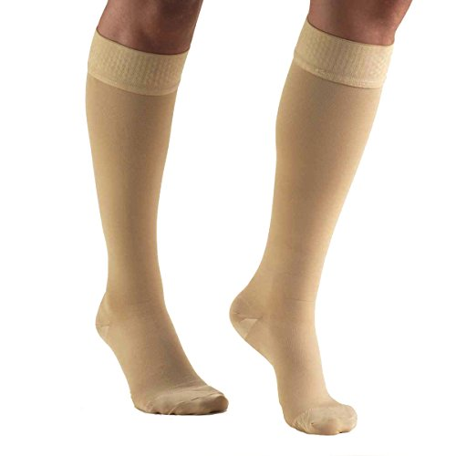 Truform Compression Stockings Below Closed