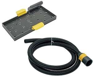 """Wolfcraft 4057000 - Set de lijadora manual para planchas de placa de yeso y escayola """"sin generar polvo"""" para refs. 4056 220 x 105 mm"""