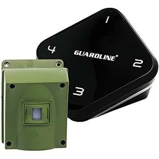 1/4 Mile Long Range Wireless Driveway Alarm Outdoor Weatherproof Motion Sensor & Detector