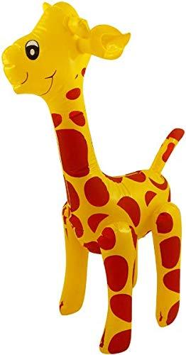 Henbrnadt - Jirafa Hinchable (59 cm), diseño de Animales Salvajes ...
