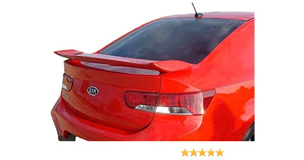 UNPAINTED  FACTORY STYLE REAR WING SPOILER FOR A KIA SOUL 2010-2013