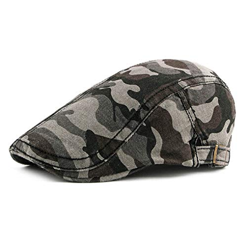 - Military Camo Newsboy Caps Beret Hat Ivy Gatsby Cabbie Driving Hats